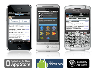 foursquare Mobile App