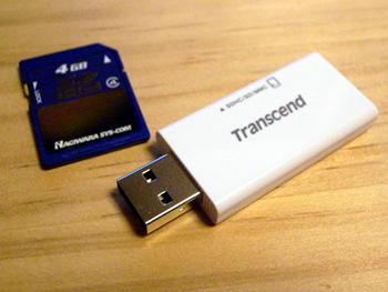 Transcend Compact Card Reader (USB2.0) 用 TS-RDS5W