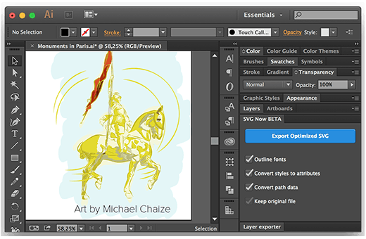 SVG NOW for Adobe Illustrator