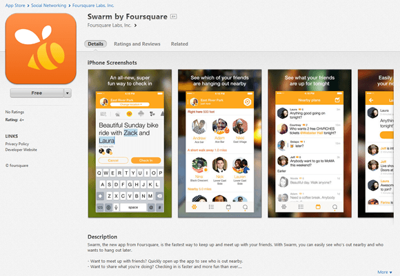Swarm by Foursquare のダウンロード